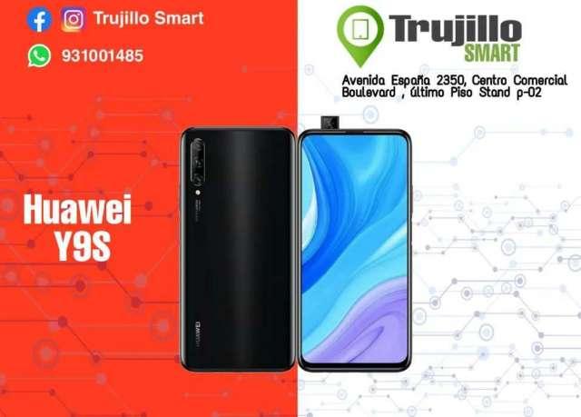 Huawei Y9S 128 GB 1 año de garantía